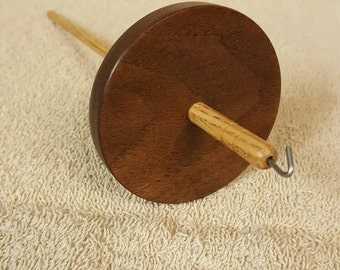 Walnut and Oak Drop Spindle