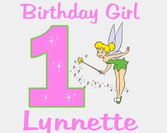 Tinkerbell Birthday Girl - Bodysuit