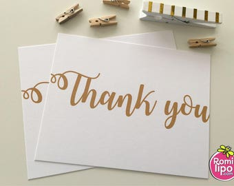 Thank you cards, Set of 10 note cards with envelopes, personalized, girl stationary, stationery set, note cards, thank you, thank you cards