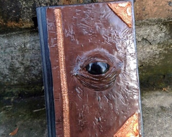 Demonic spell book, spell book, book of shadows, halloween spell book, witch journal, witch dairy, halloween, halloween journal, witchcraft