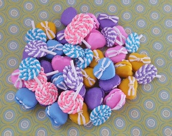 4 Piece Polymer Clay Sweets