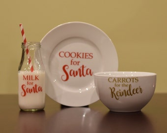 Milk/Cookies for Santa and Carrots for Reindeer