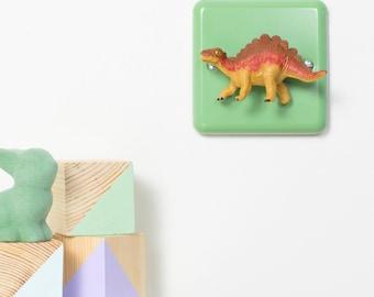Stegosaurus Dinosaur Dimmer Light Switch - Nursery Dimmer Switch - Dinosaur Bedroom Decor - Dinosaur Nursery Decor - Dinosaur Christmas Gift