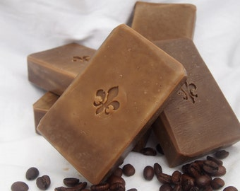 Coffee solid shampoo bar, palmoil free