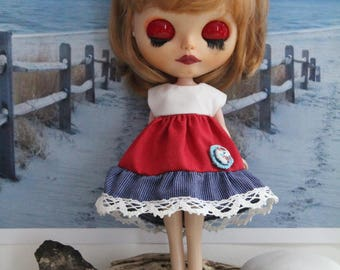 Doll clothing(night skirt-socks-panties) for Blythe, Pullip, Tangkou, Barbie