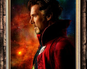 Doctor Strange portait