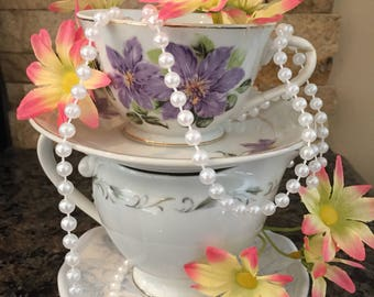 Teacup Tea Party Centerpiece / Mad Hatter / Alice in Wonderland