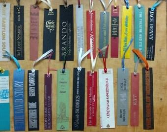 Bookspine Bookmarks - You Choose Bundle