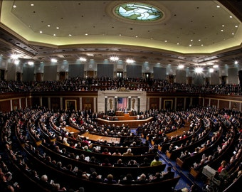 16x24 Poster; 2011 State Of The Union Fisheye