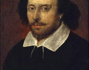 16x24 Poster; William Shakespeare Chandos Portrait