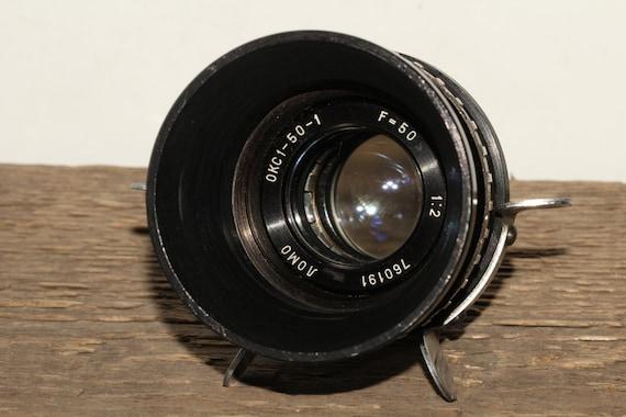 OKS 1-50-1 Anastigmat lens f2 50mm Lomo KONVAS KINOR movie camera #760191