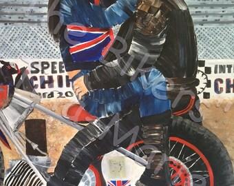 The Bikers - Giclee Print