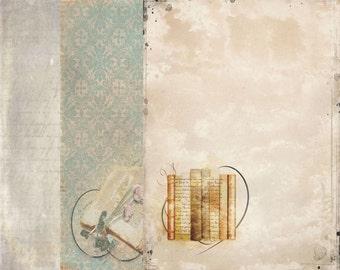 "Vintage Journal 8.3x11"""