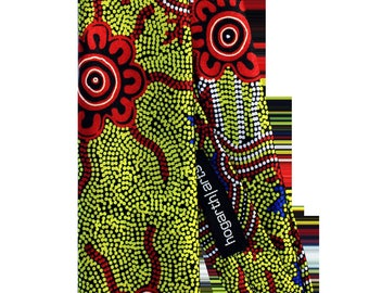 Authentic Aboriginal Art on Tie