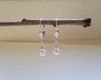 Pearl Crystal Drops