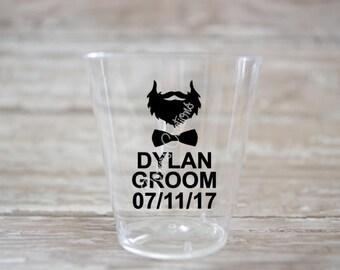 Groomsman Stickers Etsy - Vinyl decals for shot glasses