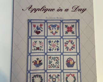 Baltimore Quilt Applique in a Day Quilt Kit