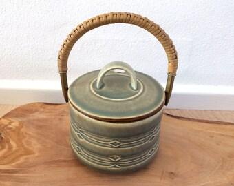 Quistgaard RUNE - lidded jam pot – Nissen Denmark / Kronjyden / Bing and Grondahl - Danish design from the 60s
