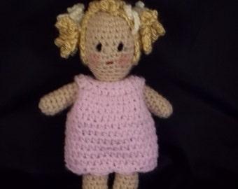 SALE 40% OFF !!  Ginny Doll - Dress Me Up Doll - Pink Dress