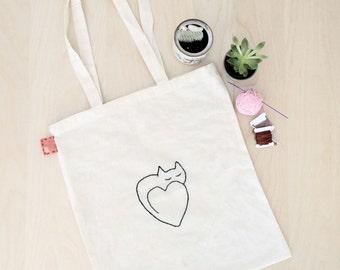 Cats = Love Tote Bag