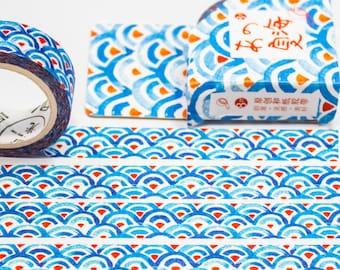 Masking Washi Tape - Water Color Pastel / Filofaxing DIY Scrapbooking Decorative Adhesive Tape