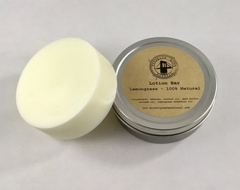 Lotion Bar, Lemongrass Lotion Bar, solid lotion, Shea butter lotion, natural lotion bar, natural lotion, travel lotion, dry skin