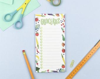 Groceries Note Pad