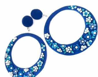 Flamenco earrings 6 sizes.