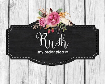 Rush My Order| SHIPPED WITHIN 2 DAYS