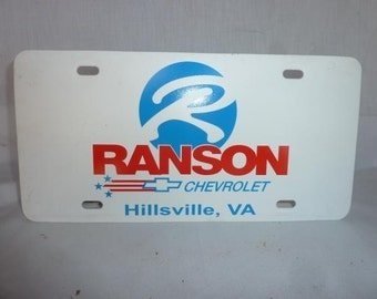 Ranson Chevrolet Front License Plate