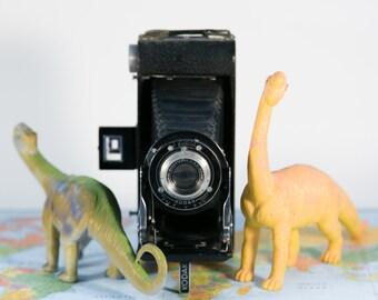 Kodak Senior Six-16 Art Deco Folding Camera with Case #F3