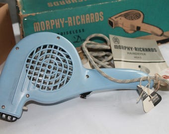 Vintage Morphy - Richards Blue Hairdryer
