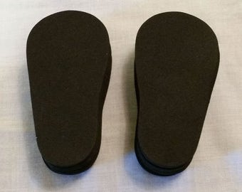 2mm foam soles for 18 inch doll shoes