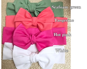 Selftie headwraps, baby bows, little girls hair bows, spring bows, photography hair bows, headwraps