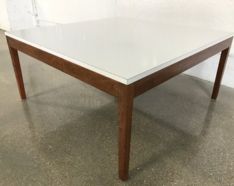 RARE Vintage George Nelson for Herman Miller Coffee Table Walnut Formica Mid Century Modern MCM