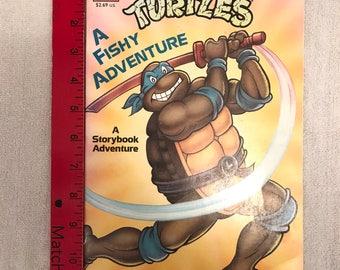Vintage Teenage Mutant Ninja Turtles Book