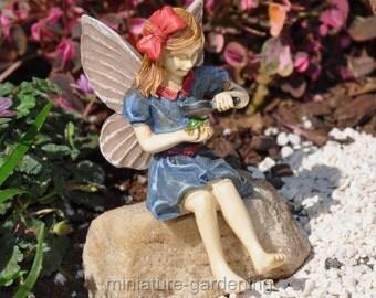 Fairy Jillian for Miniature Garden, Fairy Garden