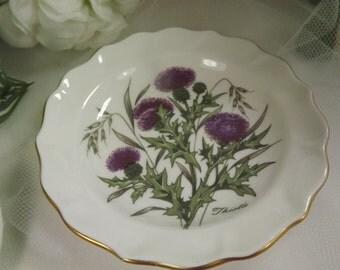 Thistle, small Balfour Scottish Fine Bone China Dish
