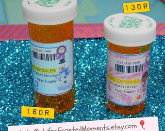 Doc McStuffins Inspired Personalized Party Prescription Bottle Favors