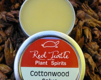 Cottonwood Bud Salve, organic, 1 oz. (Populus trichocarpa)