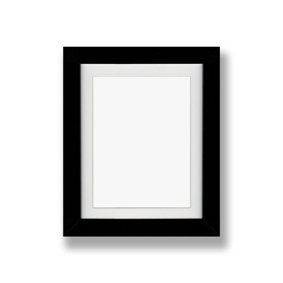 Picture Frame With Or Without Mat Inked And Screened