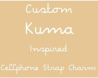 Rilakkuma Inspired Custom Cellphone Strap Charm