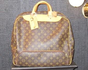 Louis Vuitton Monogram Canvas Travel Bag
