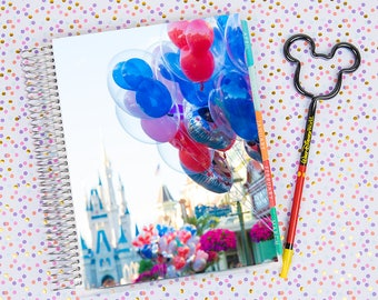 Disney World Erin Condren Life Planner Cover INSTANT DOWNLOAD - Cinderella Castle 1
