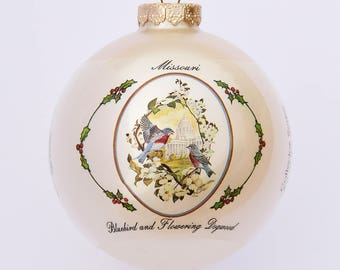 Missouri - Ornament with Art by W.D. Gaither