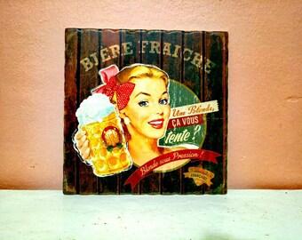 Vintage Trivet, Hot Pot Coaster, Decorative Trivet, Hot Pot Coaster, Trivet , Home Decor, Her For Gift, Retro Coaster, Ceramic coaster