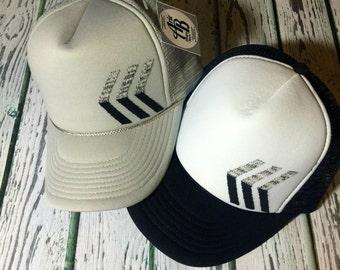 Trucker hat, womens hat, womens fashion, cute hat, womens trucker hat, kids trucker hat, mens trucker hat, chevron hat, chevron trucker hat
