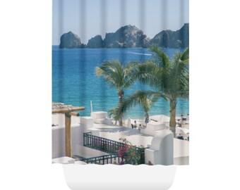 Wonderful Bathroom Accessories, Bathroom Decor, Bathtub Curtain, Cabo San Lucas, Beach  Shower Curtain