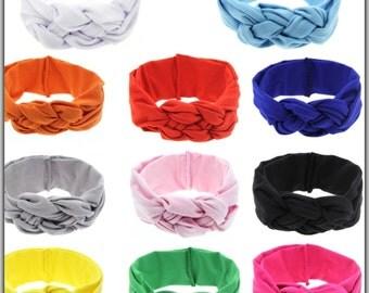 Knot tie head wrap