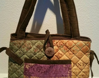 Sale: Religious/Fruit of the spirits Quilted Tote/purse